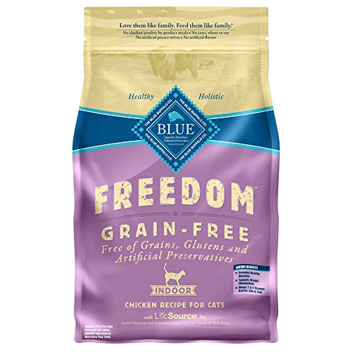 Blue Buffalo Freedom Grain Free Dry Adult Cat Food 51JBpG2KK3L