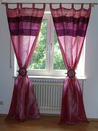 1 Stück Orientalischer Vorhang Schlaufen Schal 110 cm x 235 cm