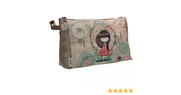 Sany Bags S.L. Anekke Nature Extra Pocket Toiletry Bag Bolsa de Aseo, 29 cm, Multicolor (Multicolour): Amazon.es: Equipaje