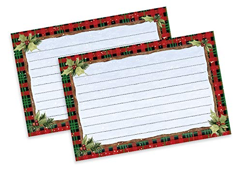 Lang Home for Christmas Recipe Card 4x6 (2015105), small, Multi