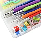 Imported Knitting Crochet Hook Tools Accessories Supplies With Case Knit Kit