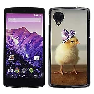 YOYO Slim PC / Aluminium Case Cover Armor Shell Portection //Cute Baby Duckling //LG Google Nexus 5