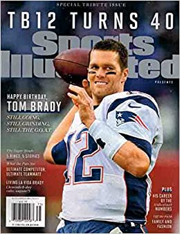 Amazon com: Tom Brady's 40th Birthday Tribute (0074470102588): Time