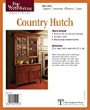 Fine Woodworking's Country Hutch Plan