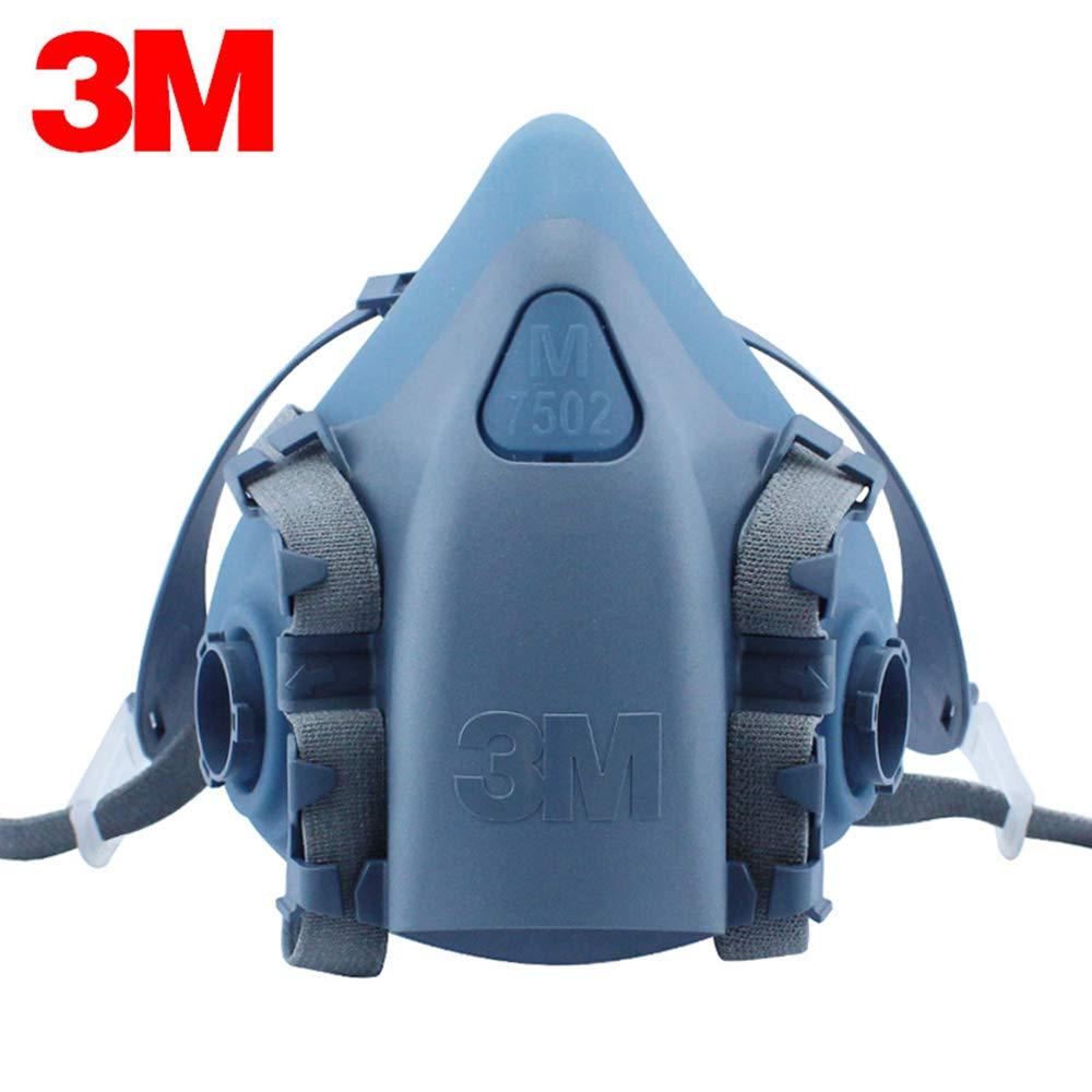 3M 50051131370819 Half Face Piece Respirators 7500 Series, Reusable