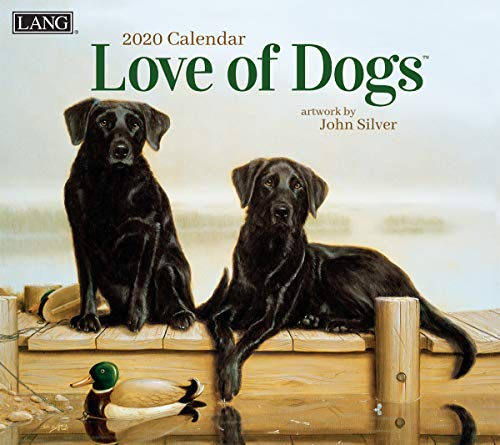The LANG Companies Love of Dogs 2020 Wall Calendar (20991001927)