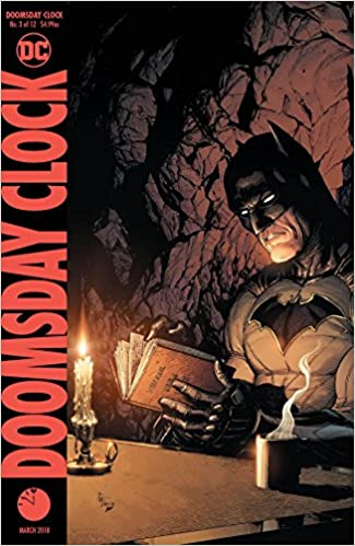 of 12 DC /'D/' Cover variant Ships NOW FAST Shipping Doomsday Clock #12