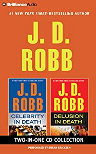 Audio CD J. D. Robb – Celebrity in Death and Delusion in Death 2-in-1 Collection: Celebrity in Death, Delusion in Death (In Death Series) Book