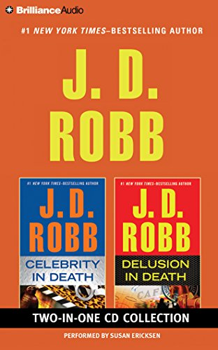 J. D. Robb – Celebrity in Death and Delusion in Death 2-in-1 Collection: Celebrity in Death, Delusion in Death (In Death Series)