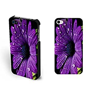 Simple Purple Sunflower For Iphone 5C Case Cover Floral Cute Flowers For Iphone 5C Case Cover Cover for Teen Girls