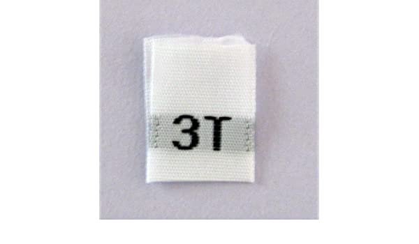 397a01b17746 Amazon.com : Size 3T Clothing Size Labels (Package of 100) : Home ...