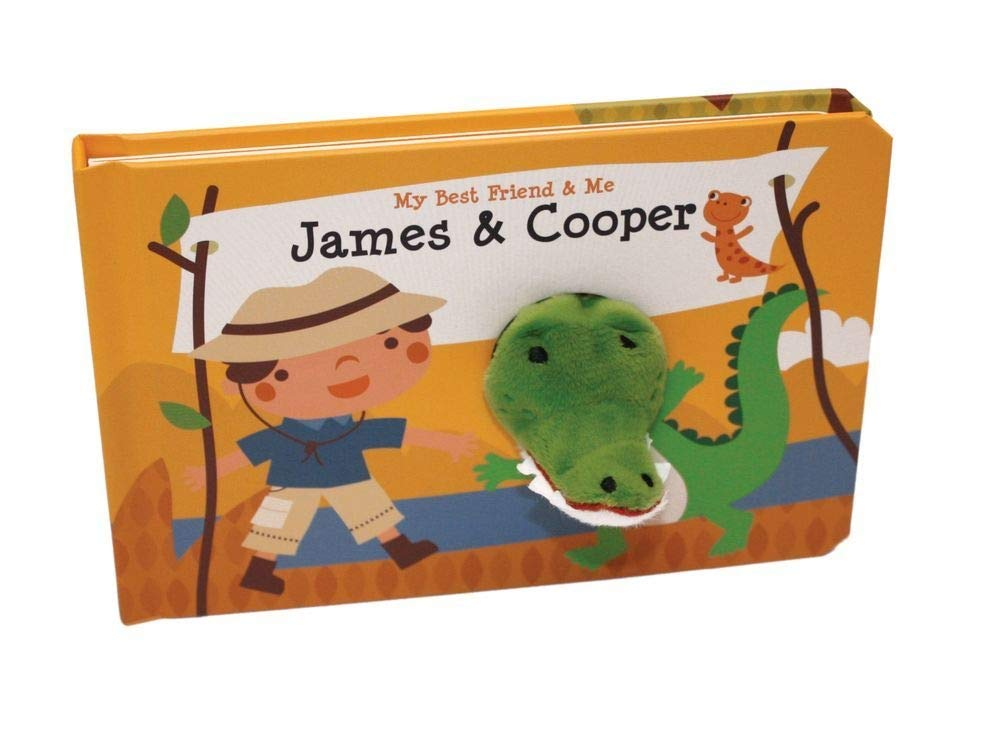 James /& Cooper Finger Puppet Book