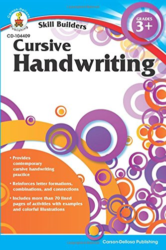 Cursive Handwriting, Grades 3 - 5 (Skill Builders)