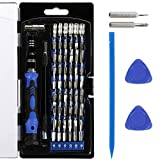 Vastar Precision Screwdriver Set, 63 in 1 with 56 Magnetic Screwdriver Bits, Repair Tool Kit for iPhone 7/7 Plus, Smartphones, Tablet, PC, Macbook, Clock and More