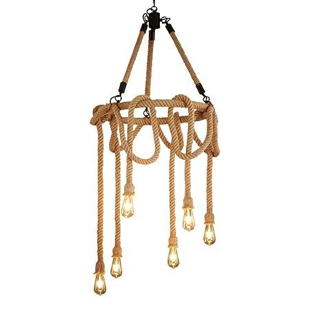 Lámparas de araña Araña, lámpara de cáñamo, cafetería, iluminación ...