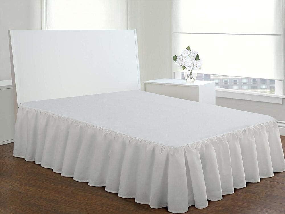 Couette WWDS Hotel Bed /& Rock Ensemble lit et Jupe pour h/ôtel avec Couette /édredon Confortable 100x200cm 39x79inch E