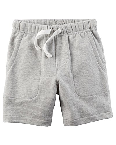 - Carter's Little Boys' Pull-On French Terry Shorts (4-5, Grey)