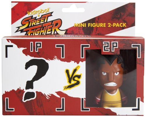 Kidrobot Street Fighter Balrog Mini Figure, 2-Pack