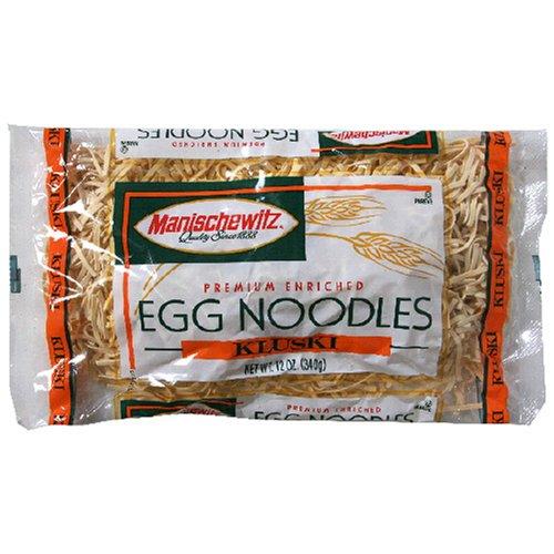 (MANISCHEWITZ Kluski Egg Noodles, 12-Ounce Bags (Pack of)