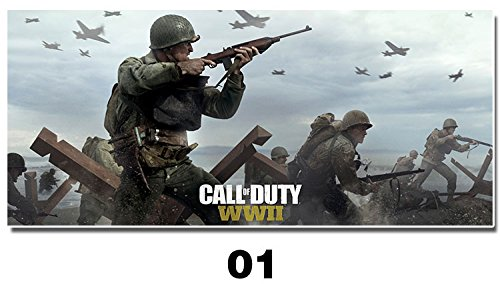 902-Call of Duty: Wwii- Gaming Poster / Print Game Cover / Key Art