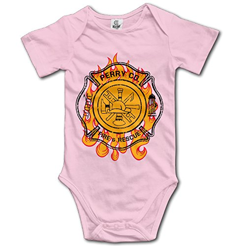 Perry Co. Fire & Rescue Baby Outfits Bodysuit For Baby Boys - Katy Perry Outfits For Kids