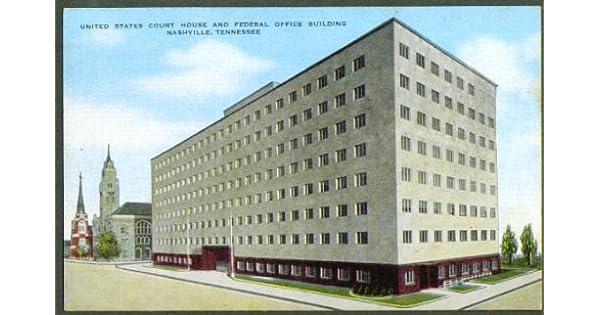 Amazon.com: Court House Nashville TN postcard 1950s ...
