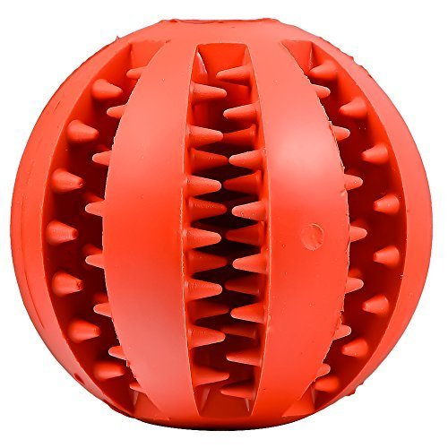 Mudder Dog Toy Ball Chew – Red
