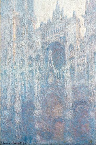 ArtParisienne The Portal of Rouen Cathedral in Morning Light by Claude Monet Paper Giclee Fine Art Print