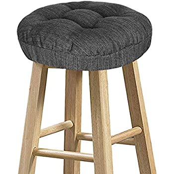 Prime Amazon Com Polyester Raindrop Bar Stool Cushion Brick Red Camellatalisay Diy Chair Ideas Camellatalisaycom