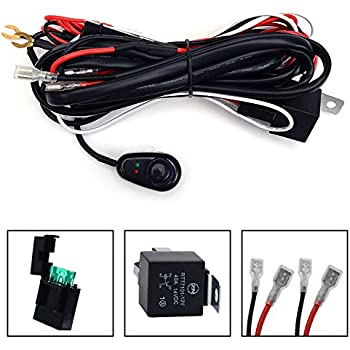 51JBvFaXW9L._SL500_AC_SS350_ amazon com opt7 led light bar wiring harness 14 gauge 380w wiring cyclops light bar wiring harness kit at readyjetset.co
