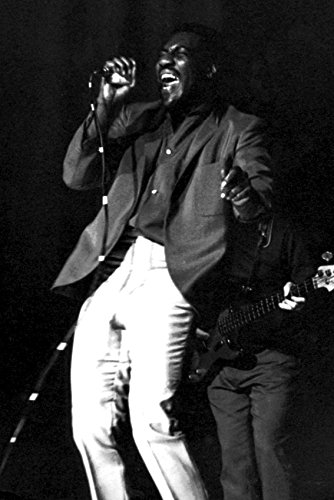 (Otis Redding Cool Image In Concert On Stage 18x24 Poster)