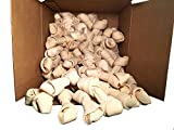 Rawhide Bones 5-6'' | Pack of 50 | 100% Natural Beef Hides Chews | Quality Dog bones from 123 Treats