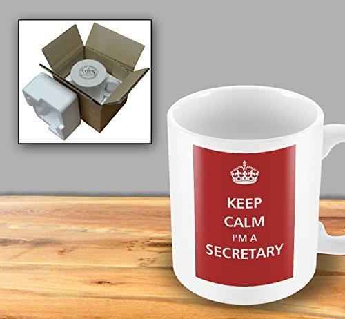 Keep Calm - I'm A Secretary by The Victorian Printing Company - Victorian Secretary