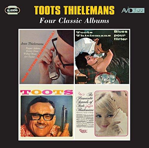 - 4 Classic Albums (Man Bites Harmonica / Pour Flirter / Toots Thielemans / Romantic Sounds Of)