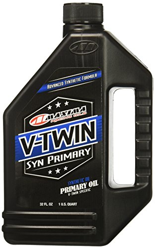 Maxima 40-05901 V-Twin Synthetic Primary Oil 32 oz, 32. Fluid_Ounces (Best Oil For Harley Primary Case)