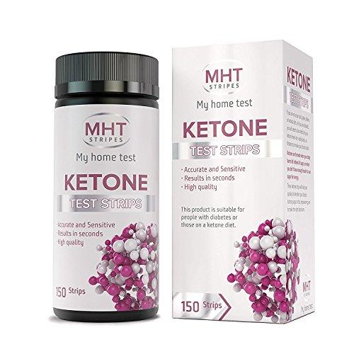 MHT Ketone Test Strips 150 Count