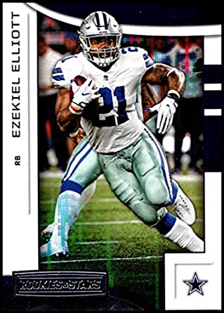 2018 Score Football Ezekiel Elliott Base Card No.84 Verzamelkaarten: sport Verzamelkaarten, ruilkaarten