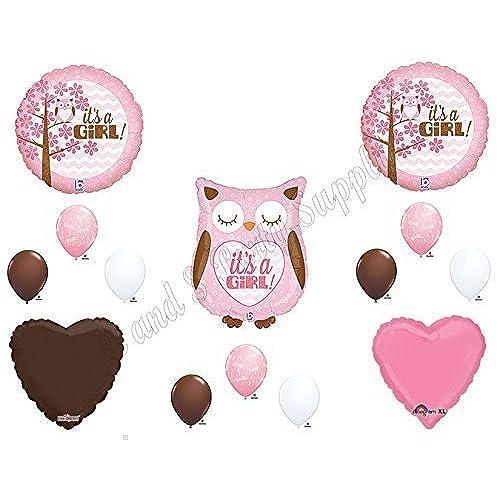 Baby Shower Decorations Owl Amazon