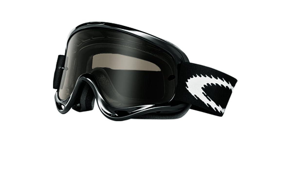 Amazon.com: Oakley O-Frame MX Goggles (Jet Black Frame/Dk Grey Lens ...