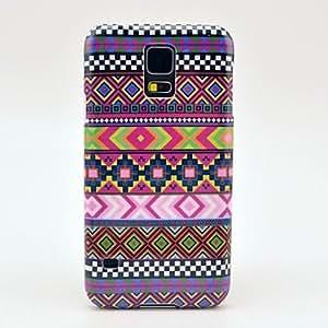 SHOUJIKE Samsung S5 I9600 compatible Graphic/Cartoon/Cool Skulls/Special Design/National Flag/Name Brand Style Plastic Back Cover