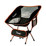 SYOURSELF Portable Folding Camping Chair-Lightweight,Compact,Comfortable,Breathable Beach Travel Mesh Chairs,Heavy Duty-Perfect for Backpacking Hiking Picnic Outdoors Sporting Events with Carry Bag