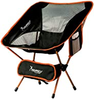 SYOURSELF Portable Camping Chairs-Lightweight,Compact,Comfortable,Breathable Beach Travel Mesh Chair Heavy Dut