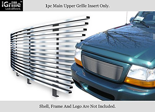 APS Fits 1998-2000 Ford Ranger Stainless Steel Billet Grille Insert #F85047C
