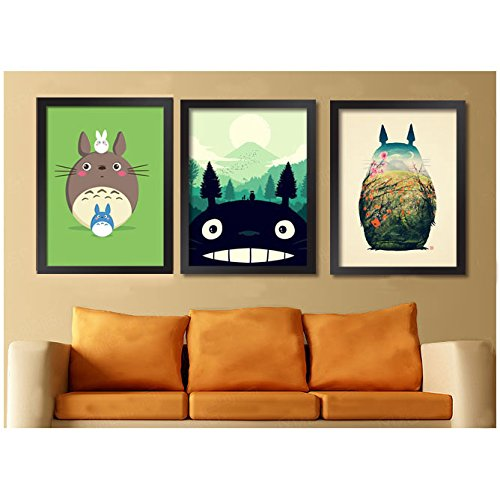 Photo Frames Canvas Wall Prints Totoro 17 X 12 Inch - Buy Online in ...