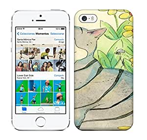 Running Gary The Fat Cat Hard Phone Case For iphone 5c