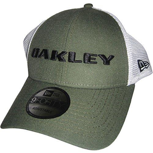 Oakley Men's Heather New Era Hat, Dark Brush, One - Caps Uk Oakley