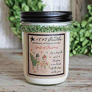 product image for 1803 Candles - 14 oz. Jar Soy Candles - (Spirit of Christmas)