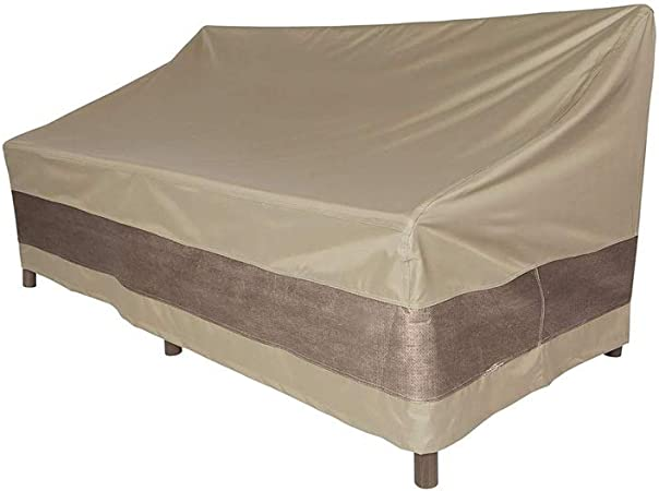 BEAUTY--lona Fundas Muebles Jardín Funda Protectora Sofá Doble para Exterior Cubierta Impermeable Cubierta A Prueba De Polvo Y Duradera 137X94X89cm (Color : C): Amazon.es: Hogar