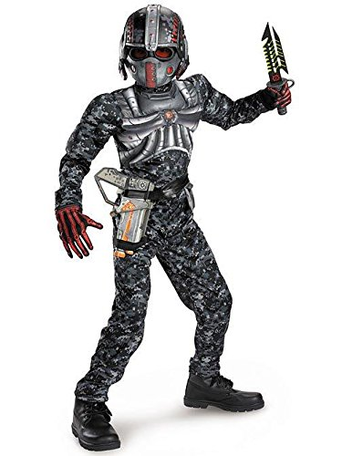 Recon Commando Classic Muscle Costume - Medium (7-8) ()