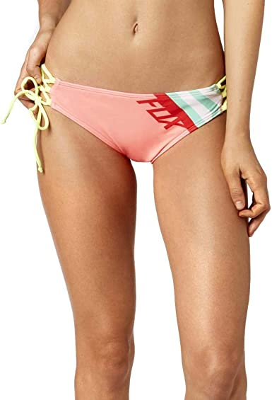 Fox Racing Womens Cozmik Lace up Side Tie Bottom Swimwear